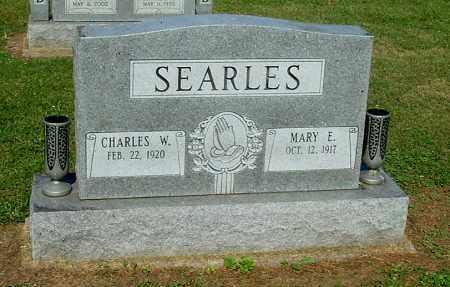 SEARLES, CHARLES W - Gallia County, Ohio   CHARLES W SEARLES - Ohio Gravestone Photos