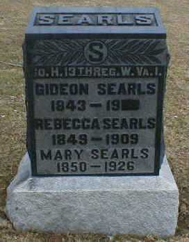 SEARLES, GIDEON - Gallia County, Ohio | GIDEON SEARLES - Ohio Gravestone Photos