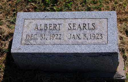 SEARLS, ALBERT - Gallia County, Ohio | ALBERT SEARLS - Ohio Gravestone Photos