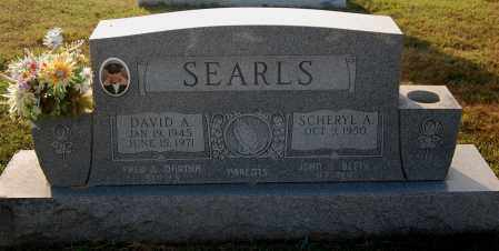 SEARLS, DAVID A - Gallia County, Ohio | DAVID A SEARLS - Ohio Gravestone Photos