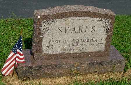 SEARLS, FRED O - Gallia County, Ohio | FRED O SEARLS - Ohio Gravestone Photos