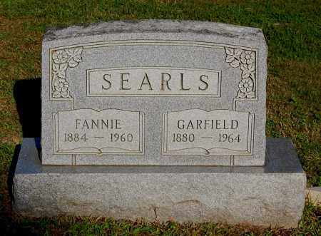 SEARLS, FANNIE - Gallia County, Ohio | FANNIE SEARLS - Ohio Gravestone Photos
