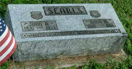 SEARLS, JOHN A - Gallia County, Ohio | JOHN A SEARLS - Ohio Gravestone Photos