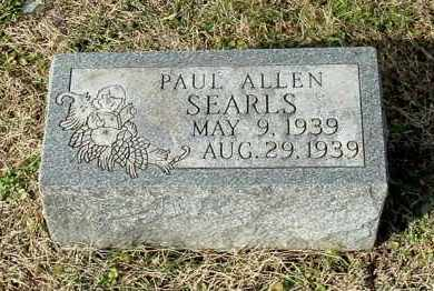 SEARLS, PAUL ALLEN - Gallia County, Ohio | PAUL ALLEN SEARLS - Ohio Gravestone Photos