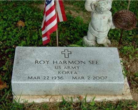 SEE, ROY HARMON - Gallia County, Ohio | ROY HARMON SEE - Ohio Gravestone Photos