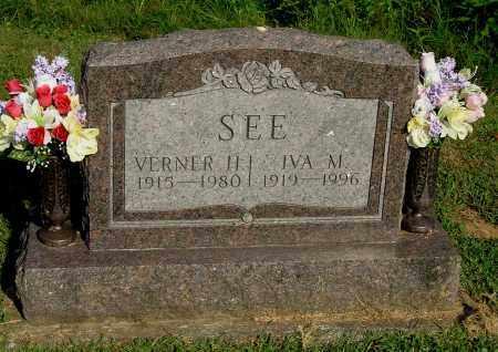 SEE, VERNER H - Gallia County, Ohio | VERNER H SEE - Ohio Gravestone Photos