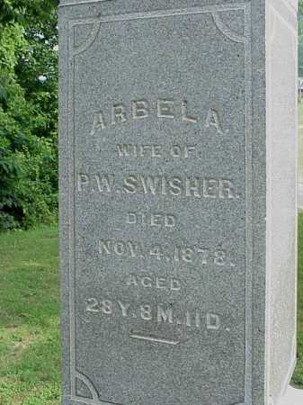 ROUSH SWISHER, AREBELA - Gallia County, Ohio | AREBELA ROUSH SWISHER - Ohio Gravestone Photos