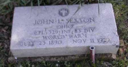 SEXTON, JOHN L. - Gallia County, Ohio | JOHN L. SEXTON - Ohio Gravestone Photos