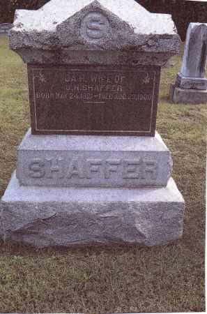 SHAFFER, IDA - Gallia County, Ohio | IDA SHAFFER - Ohio Gravestone Photos