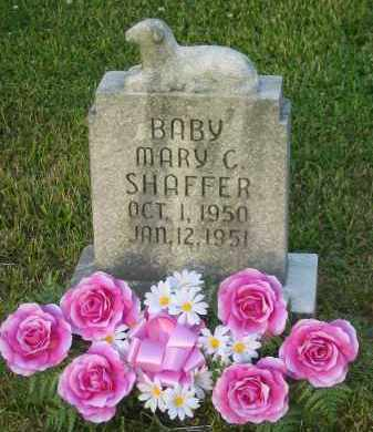 SHAFFER, MARY CRYSTINE - Gallia County, Ohio | MARY CRYSTINE SHAFFER - Ohio Gravestone Photos
