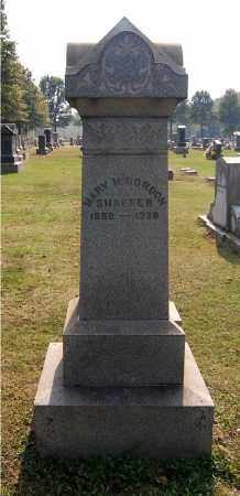 GORDON SHAFFER, MARY M - Gallia County, Ohio | MARY M GORDON SHAFFER - Ohio Gravestone Photos