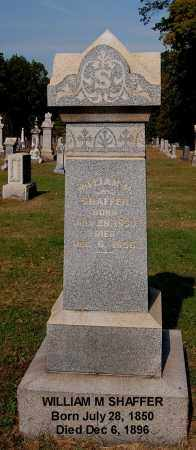 SHAFFER, WILLIAM M - Gallia County, Ohio | WILLIAM M SHAFFER - Ohio Gravestone Photos