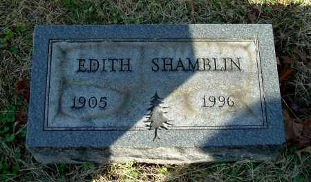 BONECUTTER SHAMBLIN, EDITH - Gallia County, Ohio | EDITH BONECUTTER SHAMBLIN - Ohio Gravestone Photos
