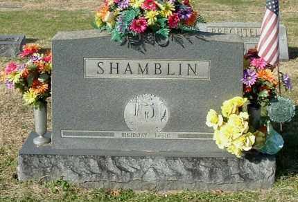 SHAMBLIN, FAMILY MONUMENT - Gallia County, Ohio | FAMILY MONUMENT SHAMBLIN - Ohio Gravestone Photos