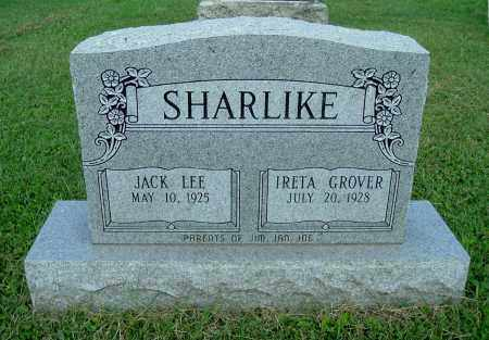 SHARLIKE, JACK LEE - Gallia County, Ohio | JACK LEE SHARLIKE - Ohio Gravestone Photos