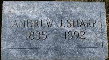 SHARP, ANDREW - Gallia County, Ohio | ANDREW SHARP - Ohio Gravestone Photos