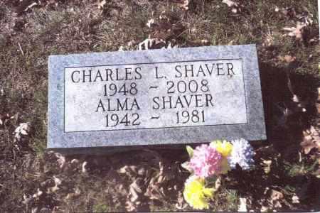 SHAVER, ALMA - Gallia County, Ohio | ALMA SHAVER - Ohio Gravestone Photos