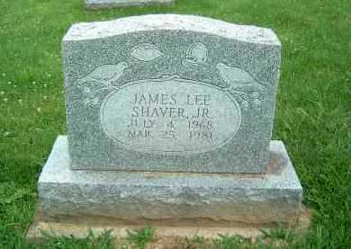 SHAVER, JAMES LEE JR. - Gallia County, Ohio | JAMES LEE JR. SHAVER - Ohio Gravestone Photos