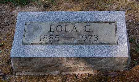 SHAVER, LOLA G - Gallia County, Ohio | LOLA G SHAVER - Ohio Gravestone Photos