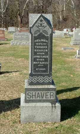 SHAVER, MELINDA - Gallia County, Ohio | MELINDA SHAVER - Ohio Gravestone Photos