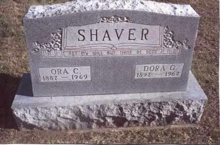 SHAVER, DORA G. - Gallia County, Ohio | DORA G. SHAVER - Ohio Gravestone Photos