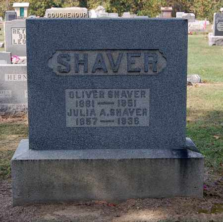 LOUKS SHAVER, JULIA A - Gallia County, Ohio | JULIA A LOUKS SHAVER - Ohio Gravestone Photos