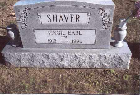 SHAVER, VIRGIL EARL - Gallia County, Ohio | VIRGIL EARL SHAVER - Ohio Gravestone Photos