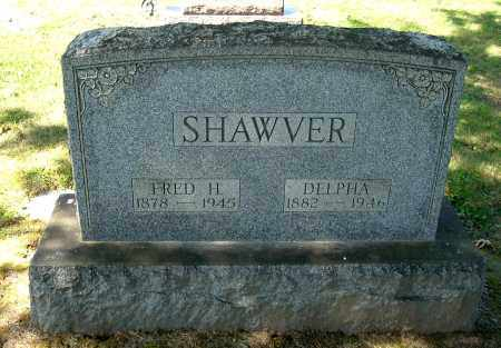 SHAWVER, FRED H - Gallia County, Ohio | FRED H SHAWVER - Ohio Gravestone Photos
