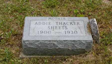 SHEETS, ADDIE - Gallia County, Ohio | ADDIE SHEETS - Ohio Gravestone Photos