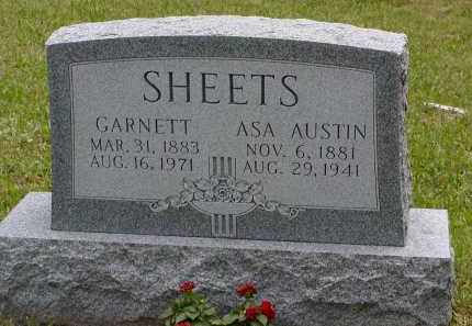 SHEETS, ASA - Gallia County, Ohio | ASA SHEETS - Ohio Gravestone Photos