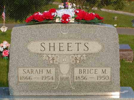 SHEETS, BRICE M. - Gallia County, Ohio | BRICE M. SHEETS - Ohio Gravestone Photos