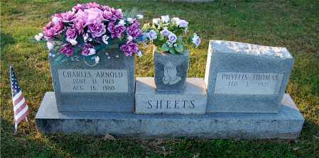THOMAS SHEETS, PHYLLIS - Gallia County, Ohio | PHYLLIS THOMAS SHEETS - Ohio Gravestone Photos