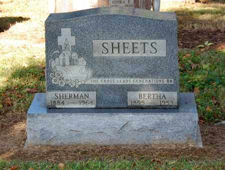 SHEETS, BERTHA - Gallia County, Ohio | BERTHA SHEETS - Ohio Gravestone Photos