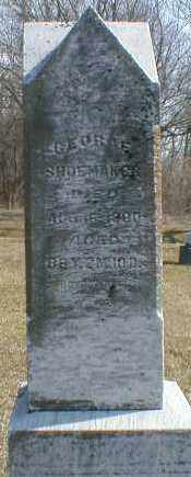 SHOEMAKER, GEORGE - Gallia County, Ohio | GEORGE SHOEMAKER - Ohio Gravestone Photos