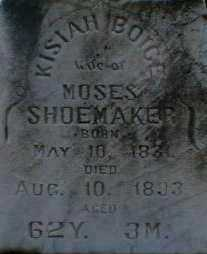 SHOEMAKER, KISIAH - Gallia County, Ohio | KISIAH SHOEMAKER - Ohio Gravestone Photos
