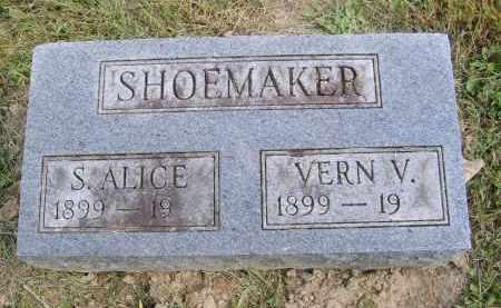 SHOEMAKER, VERN - Gallia County, Ohio | VERN SHOEMAKER - Ohio Gravestone Photos