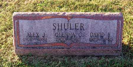 SHULER, ALEX J - Gallia County, Ohio | ALEX J SHULER - Ohio Gravestone Photos