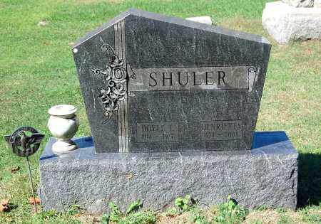 SHULER, DOYLE T - Gallia County, Ohio | DOYLE T SHULER - Ohio Gravestone Photos