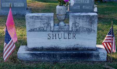 SHULER, FAMILY MONUMENT - Gallia County, Ohio | FAMILY MONUMENT SHULER - Ohio Gravestone Photos