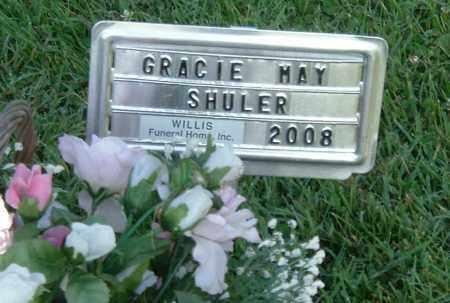 SHULER, GRACIE MAY - Gallia County, Ohio | GRACIE MAY SHULER - Ohio Gravestone Photos