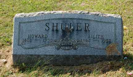 SHULER, HOWARD - Gallia County, Ohio | HOWARD SHULER - Ohio Gravestone Photos