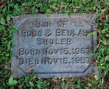 SHULER, INFANT SON - Gallia County, Ohio | INFANT SON SHULER - Ohio Gravestone Photos