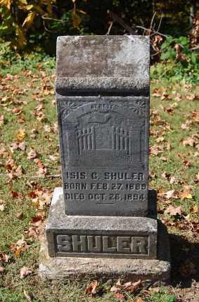 SHULER, ISIS C - Gallia County, Ohio | ISIS C SHULER - Ohio Gravestone Photos