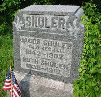 SHULER, RUTH - Gallia County, Ohio | RUTH SHULER - Ohio Gravestone Photos