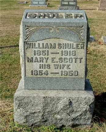 SCOTT SHULER, MARY E - Gallia County, Ohio | MARY E SCOTT SHULER - Ohio Gravestone Photos