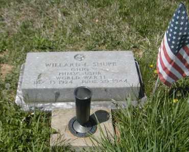 SHUPE, WILLARD - Gallia County, Ohio | WILLARD SHUPE - Ohio Gravestone Photos