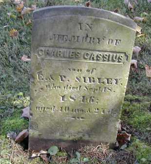 SIBLY, CHARLES - Gallia County, Ohio   CHARLES SIBLY - Ohio Gravestone Photos