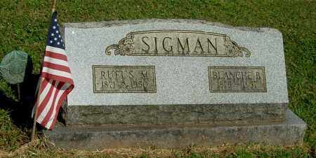 SIGMAN, RUFUS M - Gallia County, Ohio | RUFUS M SIGMAN - Ohio Gravestone Photos