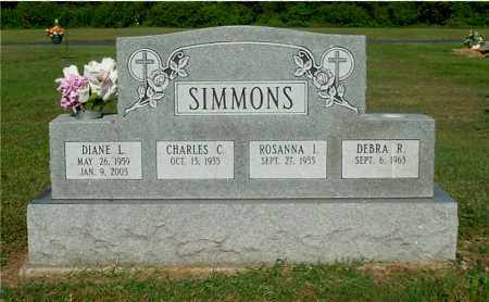SIMMONS, CHARLES C - Gallia County, Ohio | CHARLES C SIMMONS - Ohio Gravestone Photos