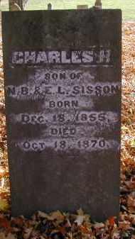 SISSON, CHARLES - Gallia County, Ohio | CHARLES SISSON - Ohio Gravestone Photos